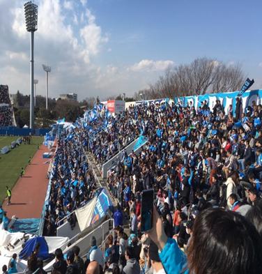 エコクル 横浜FC開幕戦 武松商事