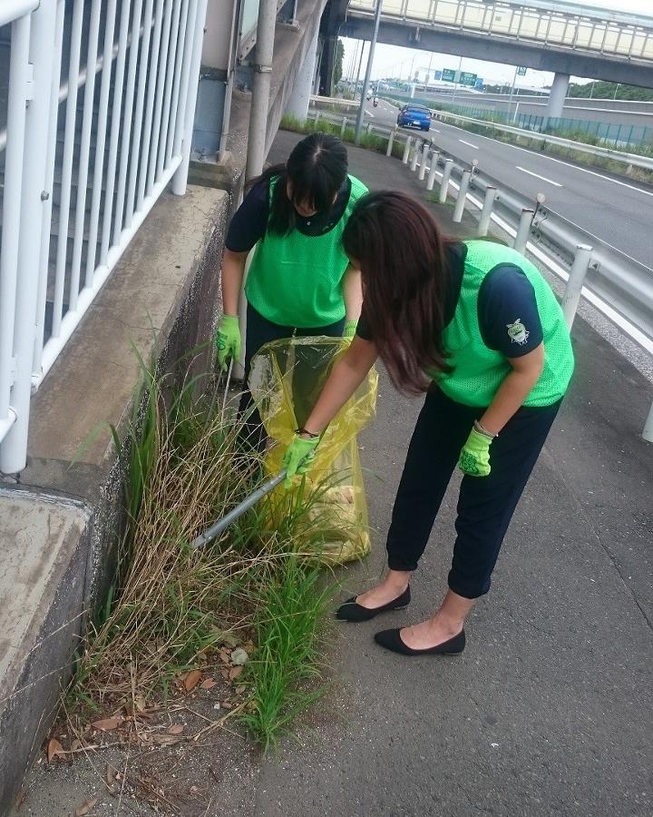 第2回ハマロードサポート活動 金沢区幸浦 清掃活動
