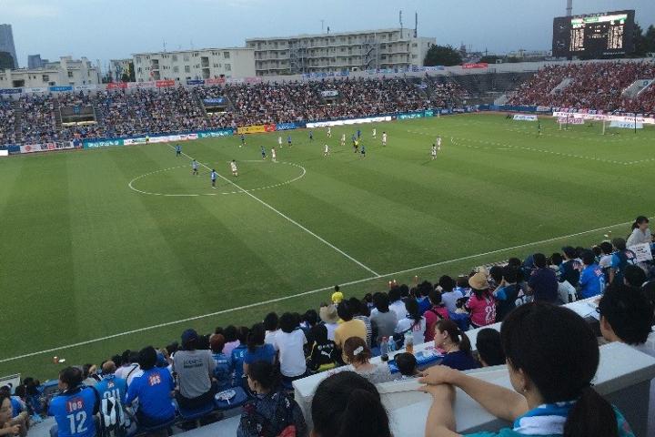 横浜FC ECOパートナーDAY エコクル 万華鏡製作体験教室 リサイクル ニッパツ三ツ沢球場