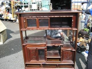 買取 リサイクル品 飾り棚