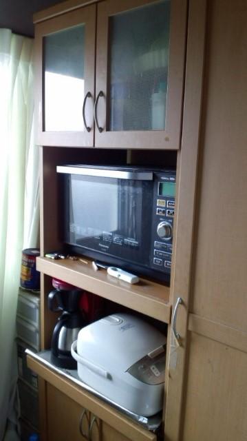 エコクル 粗大ごみ キッチン 食器棚