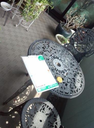 エコクル 粗大ごみ ガーデンテーブル イス 回収 横浜市 個人宅