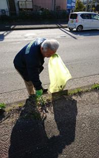 エコクル清掃活動