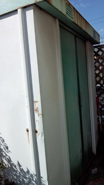 粗大回収 物置 一戸建て 解体作業