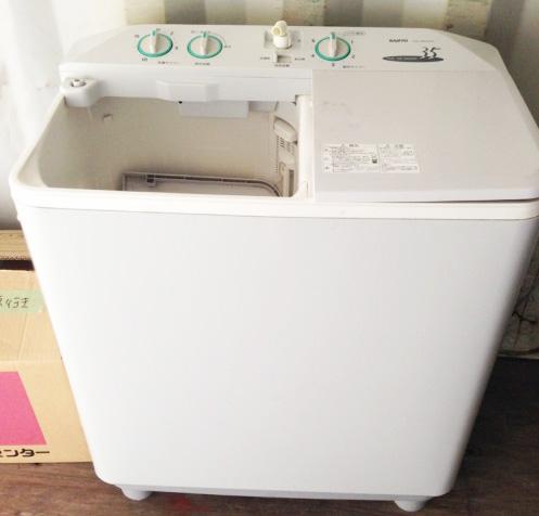 リサイクル 花粉対策にも役立つ洗濯機