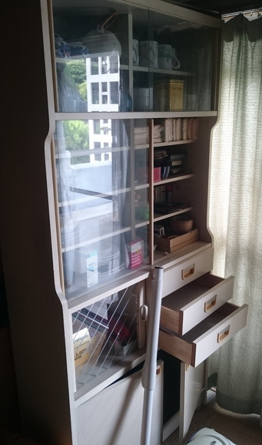 横浜市 個人宅 粗大ごみ回収 食器棚