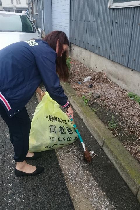 ハマロード・サポーター 第1回地域清掃活動 幸浦営業所 エコクル事業部 常陸環境